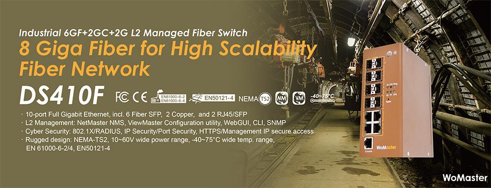High port density fiber communication for Highly Scalable