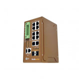 Industrial 8+2G L2 Managed Ethernet Switch