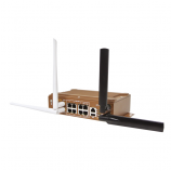 WA329_Industrial 8FE+1GE port Wireless AP/Client, Dual 802.11ac/n WLAN_WoMaster