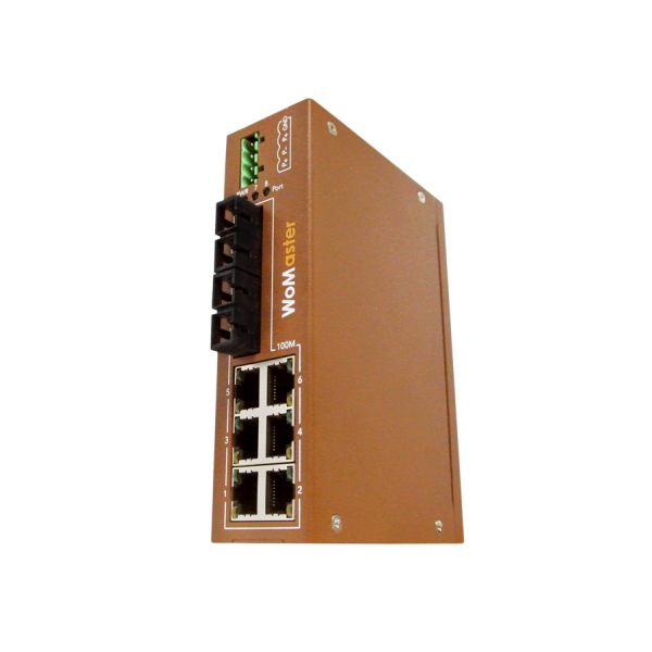 DS108 Industrial 8-port Unmanaged Ethernet Switch|WoMaster